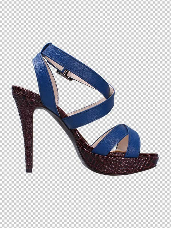 Clipping path with black background